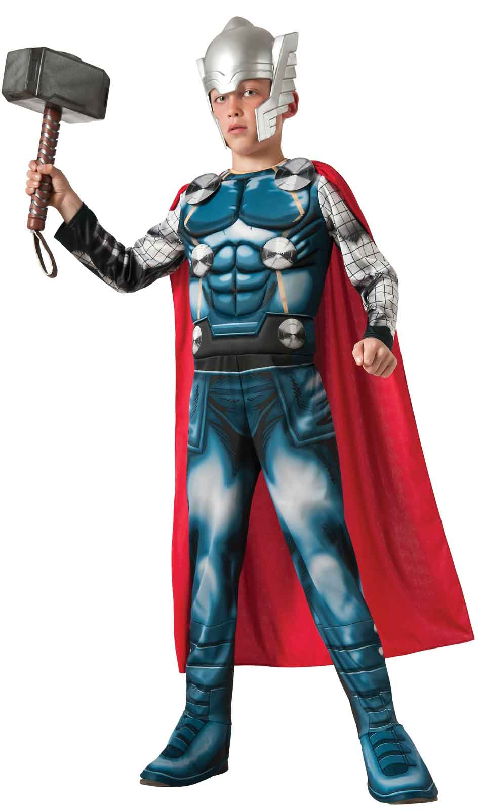 Avengers Assemble Deluxe Thor Child Costume - PartyBell.com