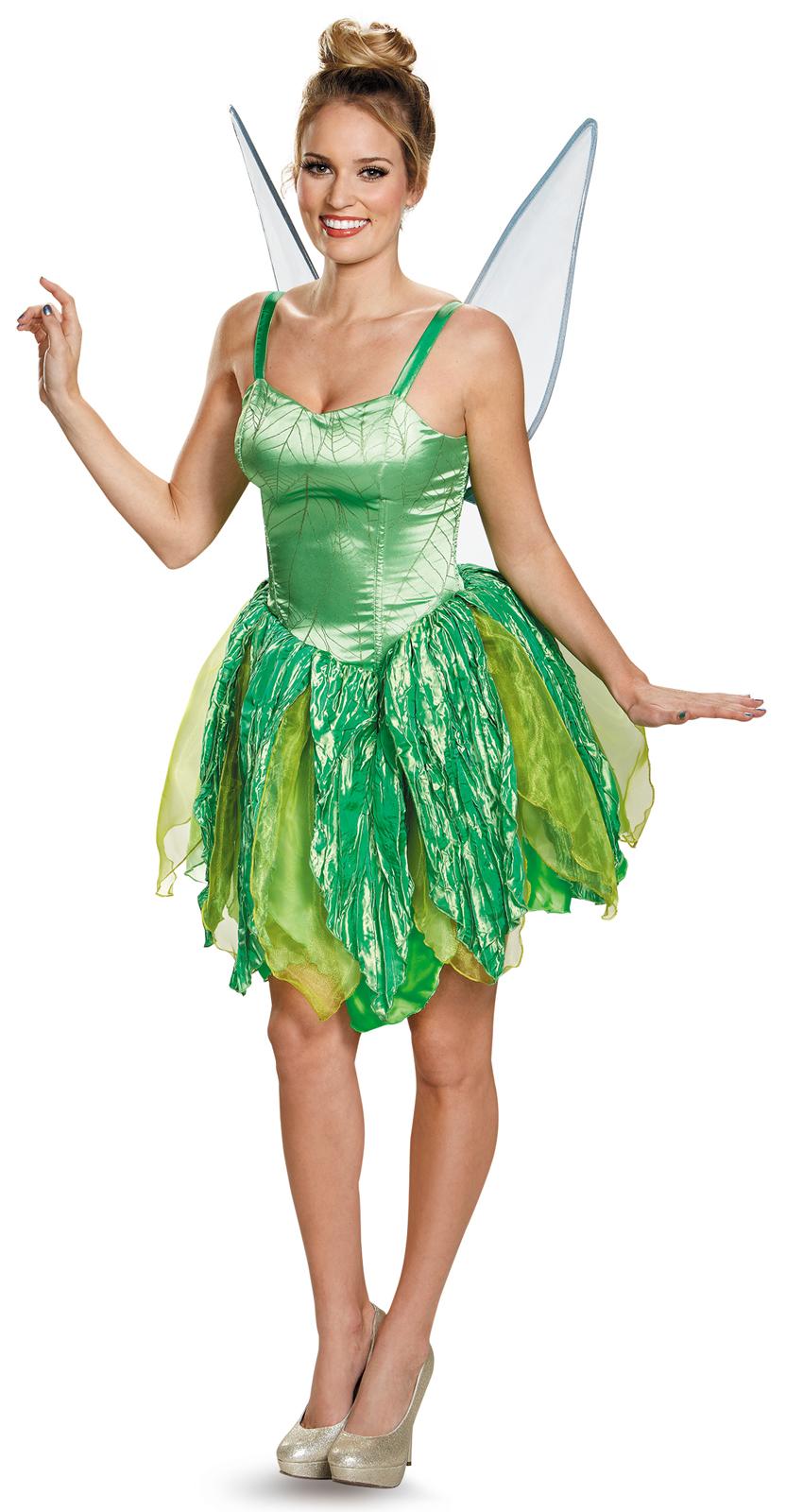 Disney Fairies Tinker Bell Prestige Adult Costume ...