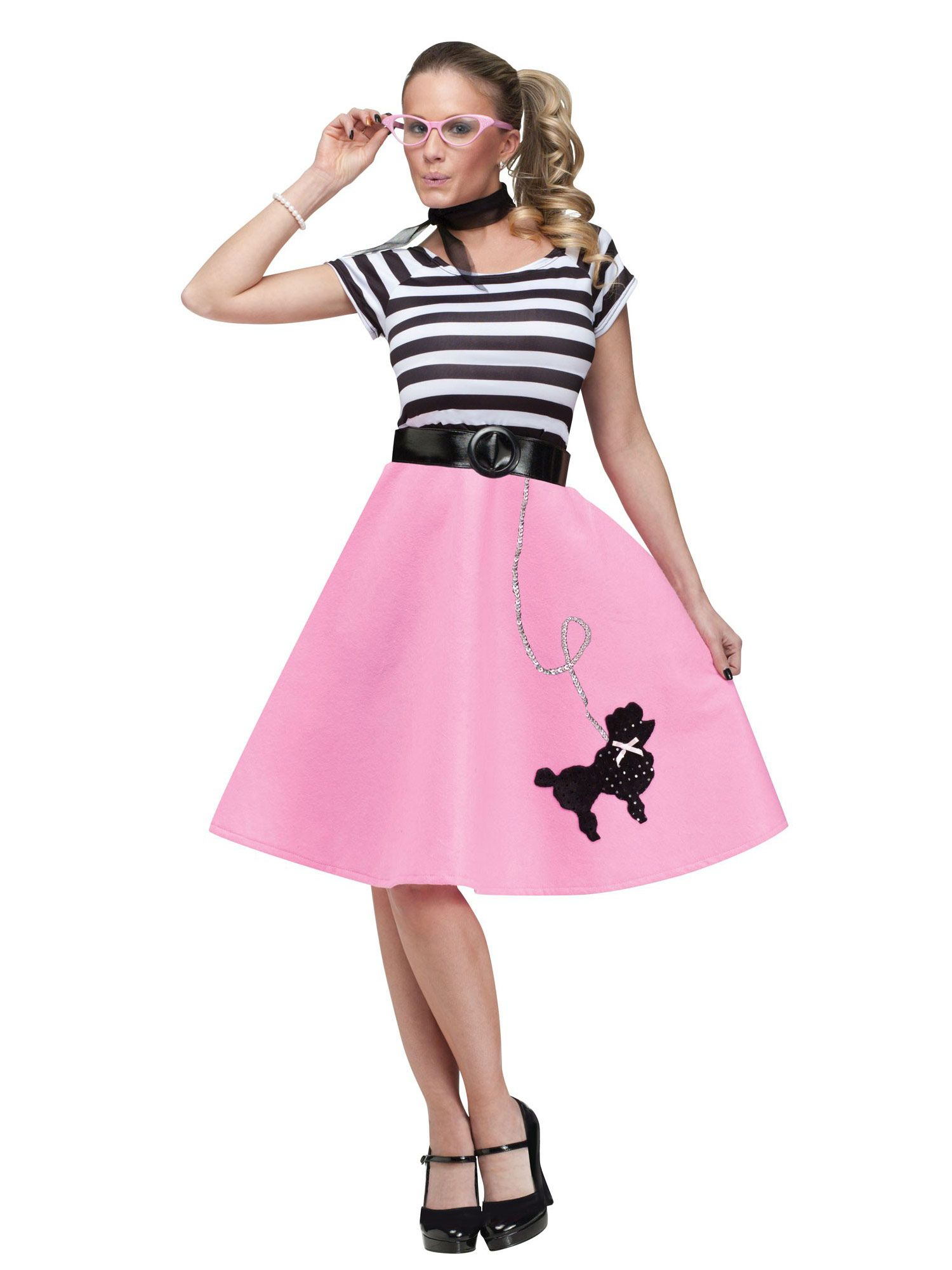 50s Poodle Skirt Adult Dress