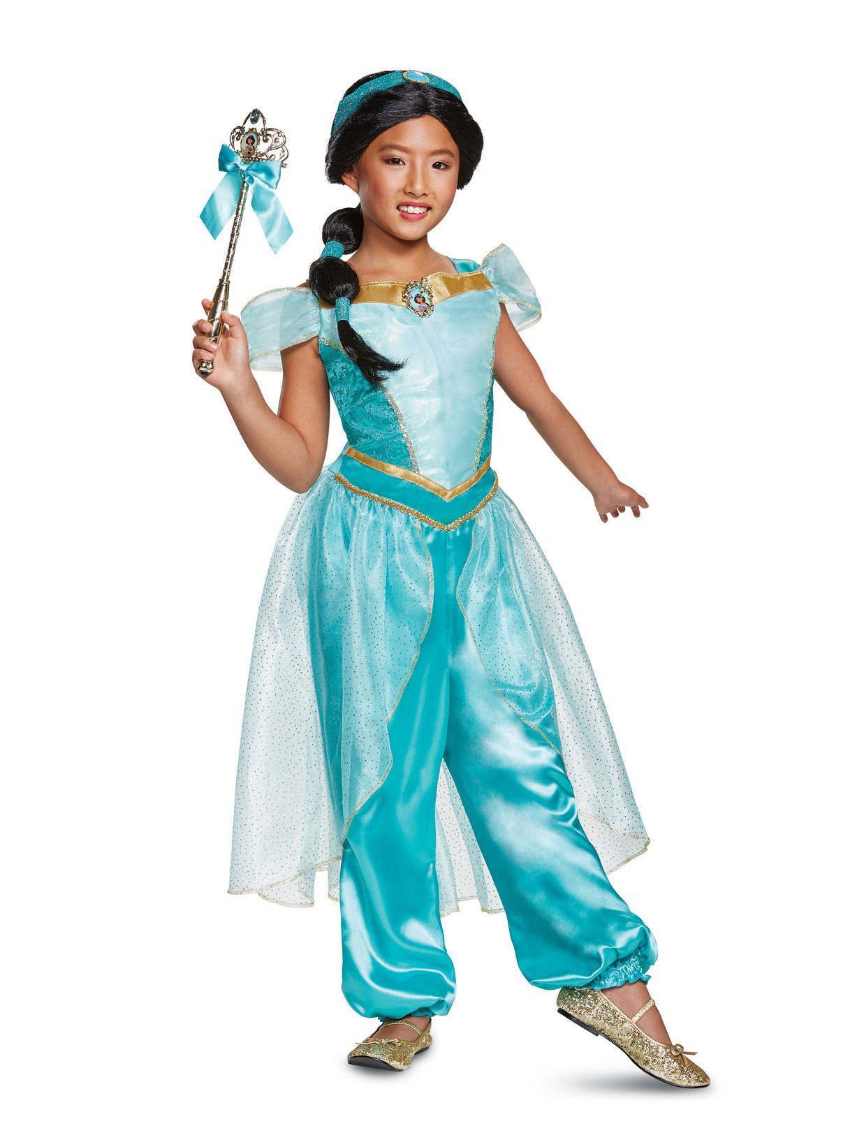Aladdin Jasmine Deluxe Child Costume Partybell Com