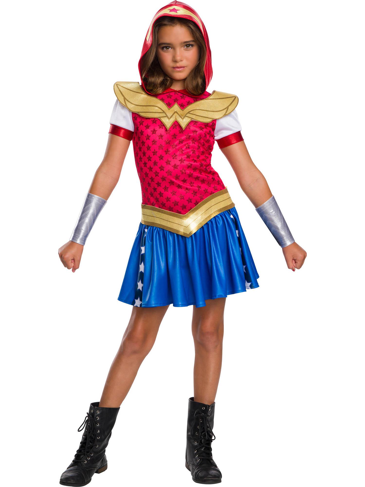 Dc Super Hero Girls Wonder Woman Hoodie Dress Partybell Com