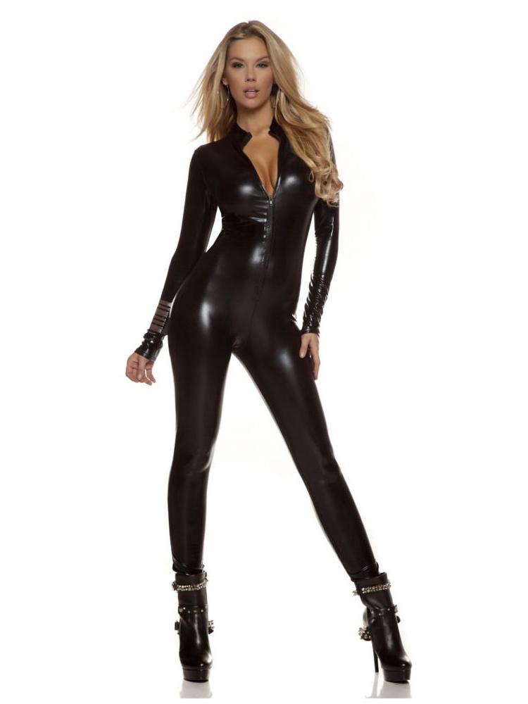 Jessica hart in sleek black
