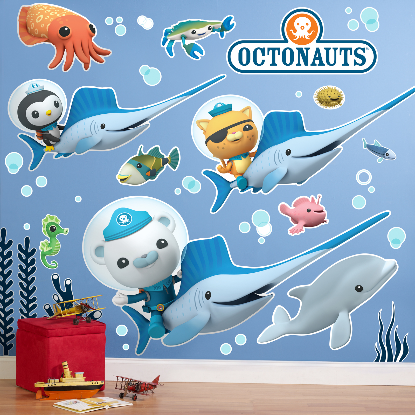 The Octonauts Giant Wall Decals Partybell Com