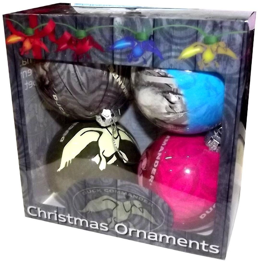 Duck Dynasty 4-Pack Christmas Ornament Set - PartyBell.com