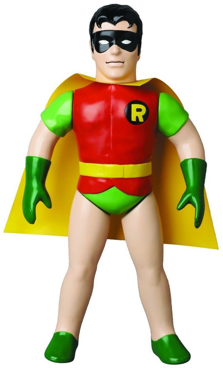 """Sofubi: DC Comics Retro Sofubi 10"""" Vinyl Figure: Robin"""