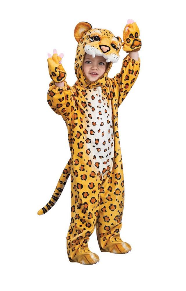 Woody Costumes Orange Leopard Jumpsui...