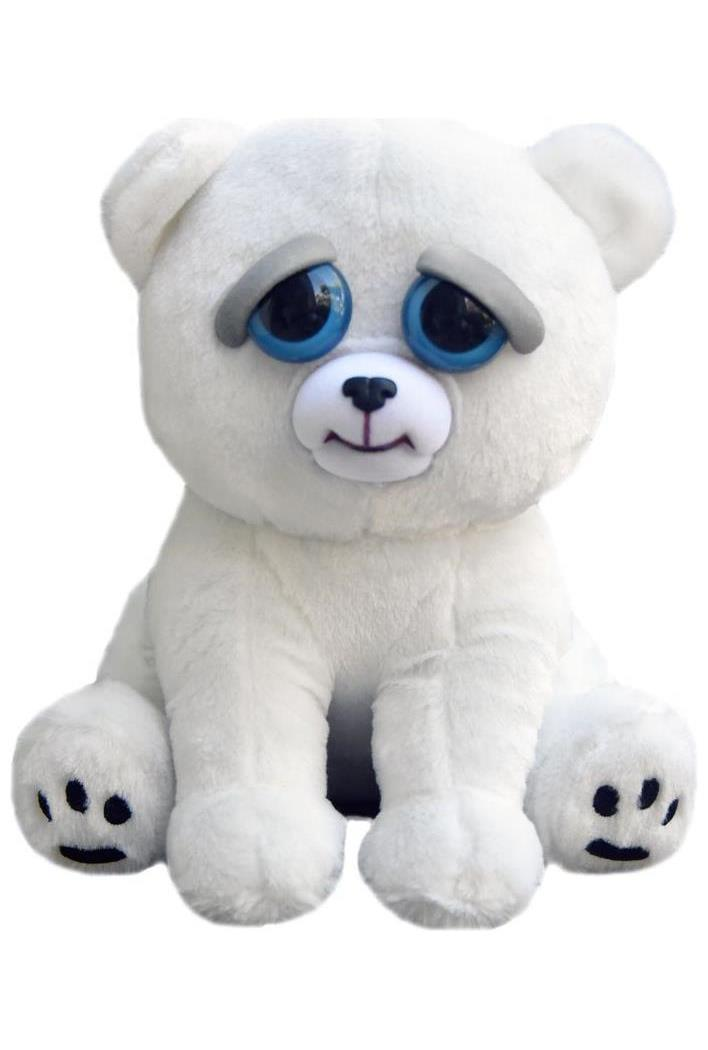 Feisty Pets Karl The Snarl Polar Bear 8 Quot Plush Partybell Com