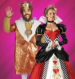 King and queen costumes, Halloween costume ideas, queen costumes, king costumes, historical costume ideas